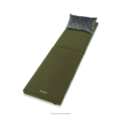 SPACEBED® Single L 200cm Green